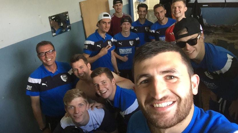 Saisonabschluss erste Mannschaft VfK Iserlohn